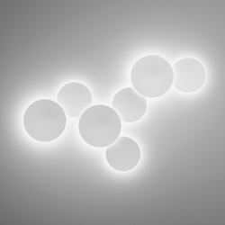 Puck Wall Art 5460 / 5461 Wall lamp | Iluminación general | Vibia