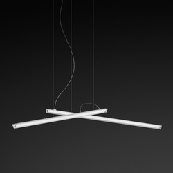 Halo hanging lamp double | Suspended lights | Vibia