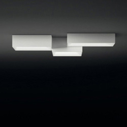 Link ceiling lamp triple | General lighting | Vibia