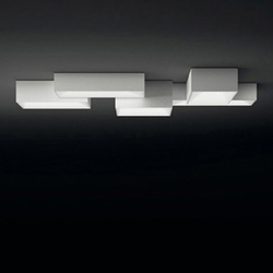 Link ceiling lamp quintuple | General lighting | Vibia