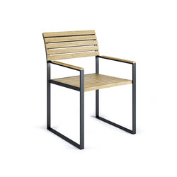 Garden Furniture | Bistro Arm Chair | Sedie | Röshults
