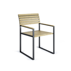 Garden Bistro Arm Chair | Sièges de jardin | Röshults