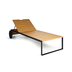 Garden Furniture | Lounger Anthracite | Sun loungers | Röshults