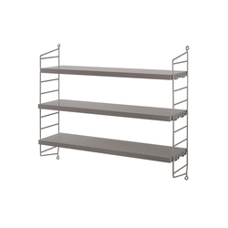 string pocket grey | Shelving | string furniture