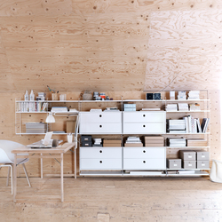 string system | Shelving systems | string furniture