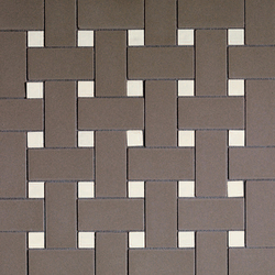 Mosaic 2x5 flooring and wall covering | Ceramic mosaics | Devon&Devon