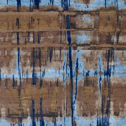 Crash 18 Teppich blau | Rugs / Designer rugs | Christine Kröncke