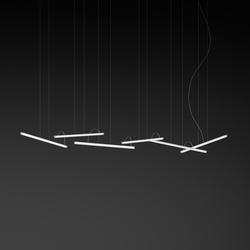 Halo hanging lamp 6 pieces | Suspended lights | Vibia