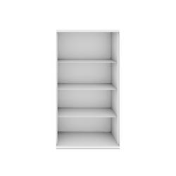 hochwertige b roregalsysteme mit regalb den aus stahl auf. Black Bedroom Furniture Sets. Home Design Ideas
