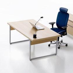 Deciso table | Individual desks | Kinnarps