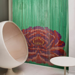 Collection  Mint Lotus | Mallas de metal | Kriskadecor