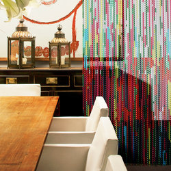 Collection Stripy Thing | Tele metalliche | Kriskadecor