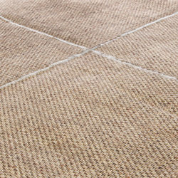 Crossline safari beige | Rugs | Miinu