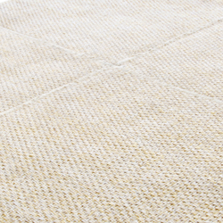Crossline papyrus beige | Formatteppiche / Designerteppiche | Miinu