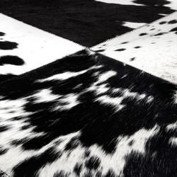 Cuero black & white | Rugs | Miinu