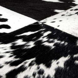 Cuero black & white | Tappeti / Tappeti d'autore | Miinu