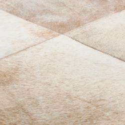 Cuero beige | Alfombras / Alfombras de diseño | Miinu