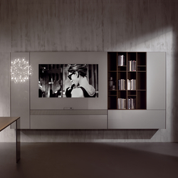 N.C. SMARTWALL | Multimedia sideboards | Acerbis