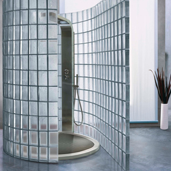 Shower wall | Decorative glass | Poesia