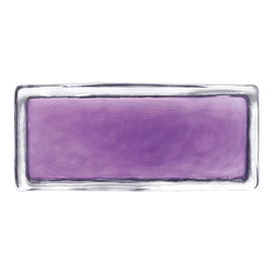 Vetroattivo Gamma | mystic violet | Decorative glass | Poesia
