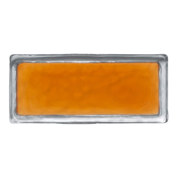 Vetroattivo Gamma | sweetest orange | Decorative glass | Poesia