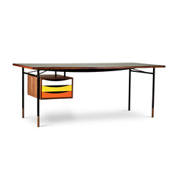 Nyhavn Table and Tray Unit | Schreibtische | House of Finn Juhl - Onecollection