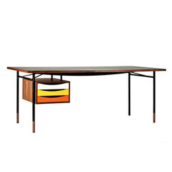 Nyhavn Table and Tray Unit | Escritorios | House of Finn Juhl - Onecollection