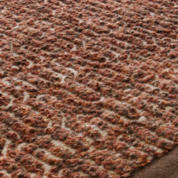 Zigzag copper brown | Rugs / Designer rugs | Miinu
