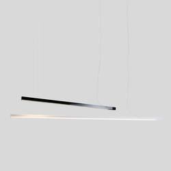 Black Bar | White Bar | Suspended lights | Ayal Rosin