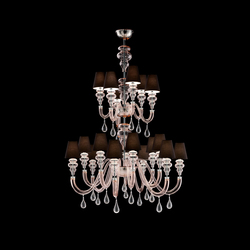 Ran Round | Ceiling suspended chandeliers | Barovier&Toso