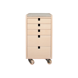 Klaq chest of drawers | Comodini | Olby Design