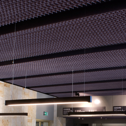 Honeycomb ceiling | Suspended ceilings | PROCÉDÉS CHÉNEL