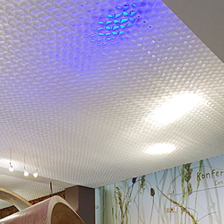 Honeycomb ceiling | Back-illuminated ceilings | PROCÉDÉS CHÉNEL