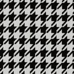 Jacquards Pied de Poule Black | Outdoor upholstery fabrics | Sunbrella