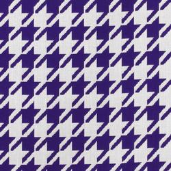 Jacquards Pied de Poule Purple | Outdoor upholstery fabrics | Sunbrella