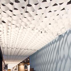 Honeycomb ceiling | Plafonds suspendus | PROCÉDÉS CHÉNEL