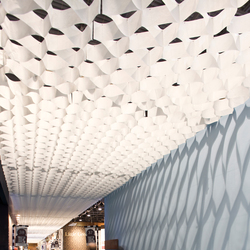 Honeycomb ceiling | Controsoffitti | PROCÉDÉS CHÉNEL