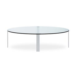 Liko Glass table round | Tavolini salotto | Desalto