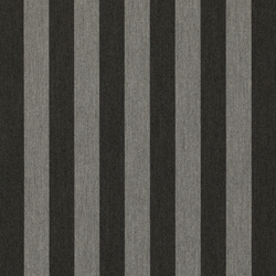 Solids & Stripes Yacht Stripe Chiné Grey | Tissus de décoration | Sunbrella