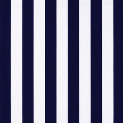 Solids & Stripes Yacht Stripe Navy | Outdoor upholstery fabrics | Sunbrella