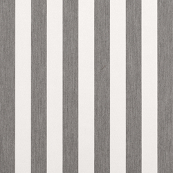 Solids & Stripes Yacht Stripe Graumel | Tissus de décoration | Sunbrella