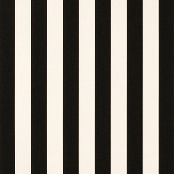 Solids & Stripes Yacht Stripe Black | Outdoor upholstery fabrics | Sunbrella