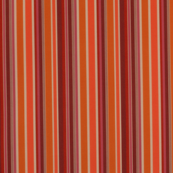 Solids & Stripes Brannon Orange | Outdoor upholstery fabrics | Sunbrella