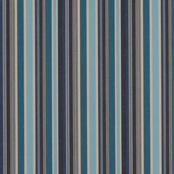 Solids & Stripes Brannon Bleu | Outdoor upholstery fabrics | Sunbrella