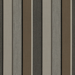 Solids & Stripes Quadri Grey | Tissus de décoration | Sunbrella