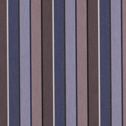 Solids & Stripes Quadri Purple | Tapicería de exterior | Sunbrella