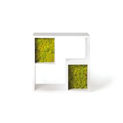 Modò Form Library | Shelving | Verde Profilo