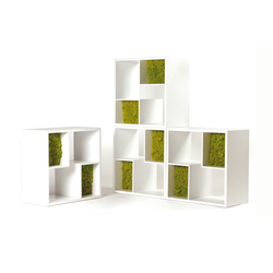 Modò Library | Shelving | Verde Profilo