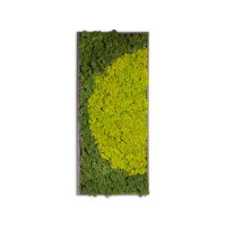 Moss painting R Picture | Decoración de pared | Verde Profilo