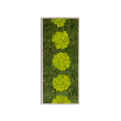 Moss painting R Picture | Wall decoration | Verde Profilo